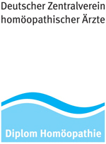 Logo - Deitscher Zentralverein homöopatischer Ärzte - Diplom Homöopathie